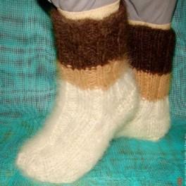 Носки «Мечта Полярника» зимние пуховые толстые артикул №32м из собачь