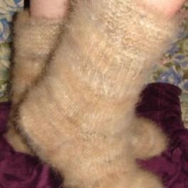 Носки женские комфортные из пуха колли(подшерсток колли)