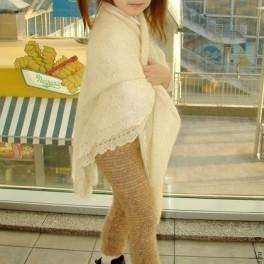 Штаны вязаные вручную «Нежное Чудо» детские для холодной зимы артикул
