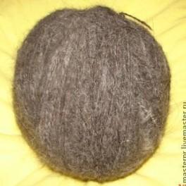 Пряжа «Алабай» для ручного вязания носков (шерсть собачья)