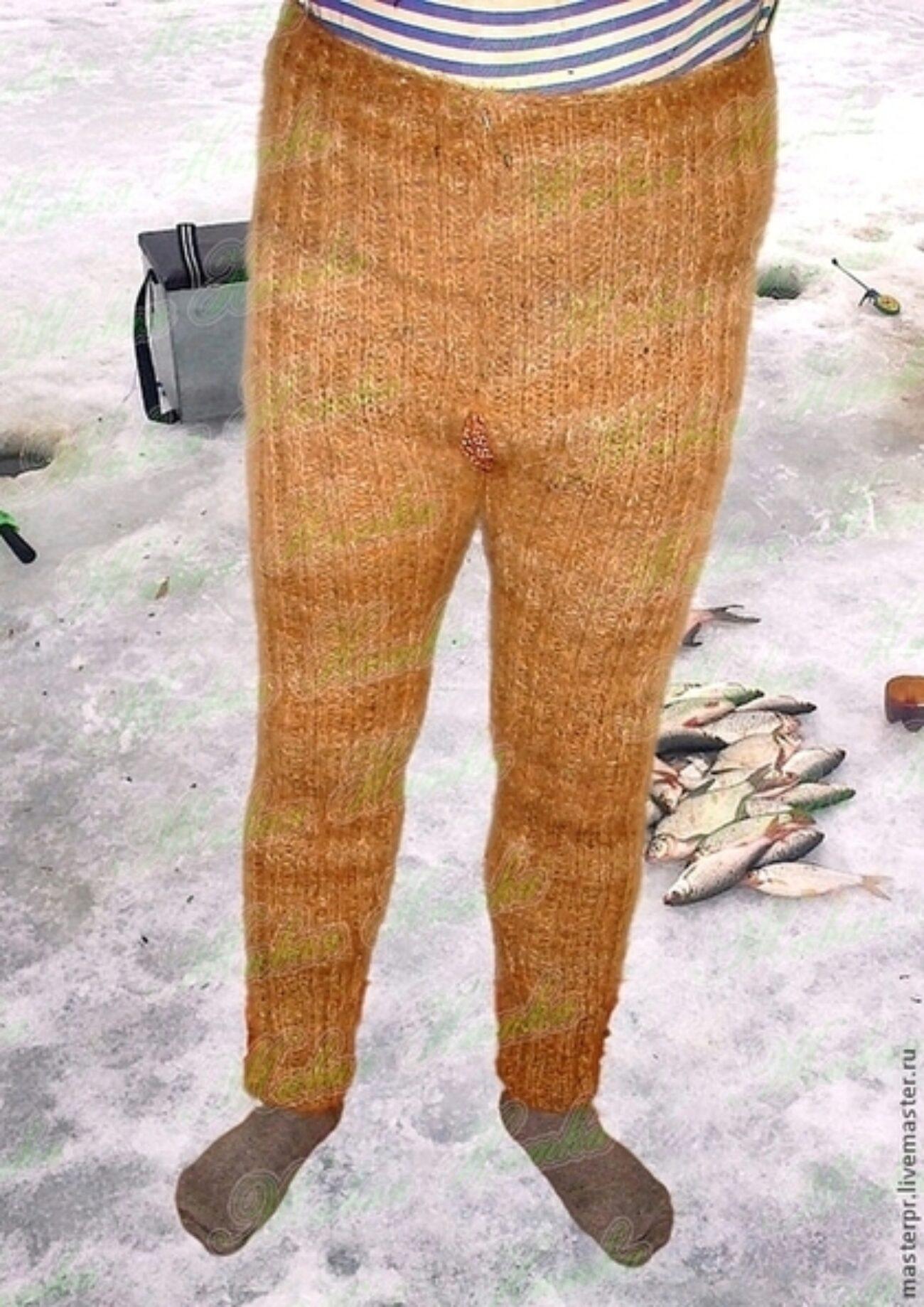 Вязаные брюки доставка