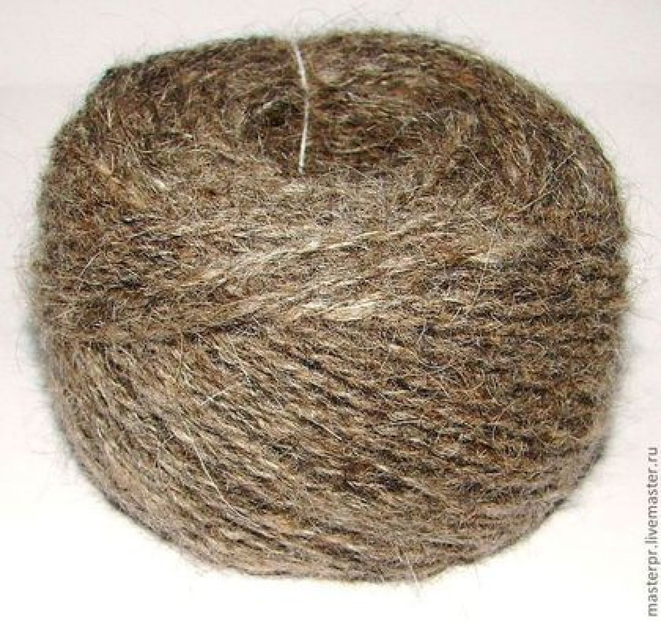 Пряжа микс «Дружба1» для ручного вязания из собачьей шерсти