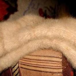 Носки вязаные из пуха колли (подшерсток колли)