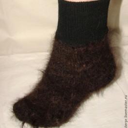 Носки пуховые арт. №43 из собачьей шерсти
