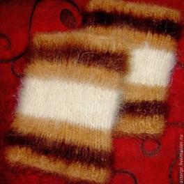 Наколенники женские мягкие арт №05ж из собачьей шерсти