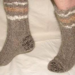 Носки теплые арт. №44 из собачьей шерсти