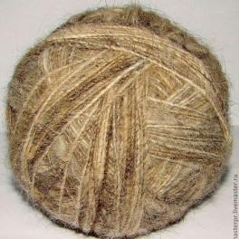 Пряжа «Акита американская» для ручного вязания(на ЗАКАЗ) из собачьей шерсти.
