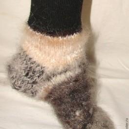 Носки пуховые арт. №42 из собачьей шерсти