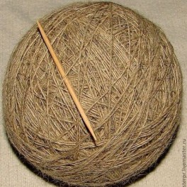 Пряжа ФЭ тонкая теплая для ручного вязания.Одинарная нитка.