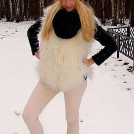 Шапка женская вязанная «Молодежная2» шерстяная .