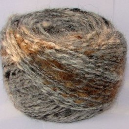 Пряжа целебная «Звезда Кавказа меланж » для ручного вязания 155м100г