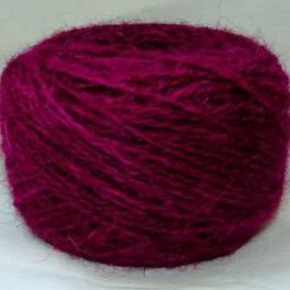 Пряжа «БШС фиолетовый» 145м/100гр из собачьей шерсти