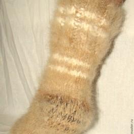 Носки «Заполярье» пуховые толстые арт№100м из собачьей шерсти